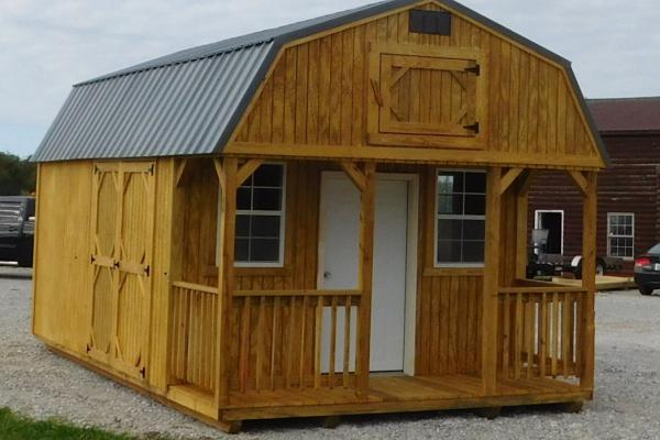 Build This Cozy Cabin Cozy Cabin Magazine Do It Yourself: Lofted Cabin • Your #1 Backyard Storage Solution